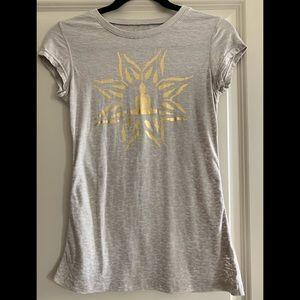 Eco Yoga Gold Buddha Logo T-shirt size S